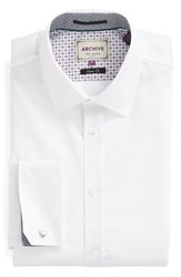 Ted Baker Men's London 'Beehive' Trim Fit Solid Dress Shirt