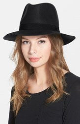 Junior Women's David And Young Felt Fedora Black Online Only