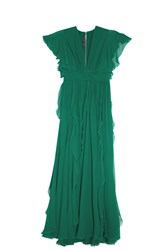 Elie Saab Butterfly Gown Green