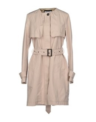 Caractere Full Length Jackets Beige