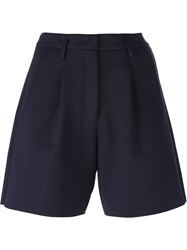 Forte Forte A Line Shorts Blue