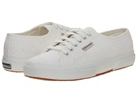 Superga 2750 Crochet White Women's Lace Up Casual Shoes