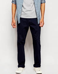 Lee Chinos Brooklyn Straight Fit Twill Nighttimeblue