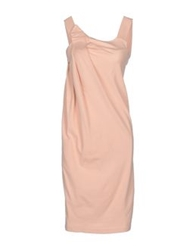 Andreaturchi Knee Length Dresses Light Pink