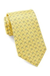 Tailorbyrd Silk Golf Club Tie Yellow