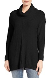 Vince Camuto Women's Two By Knit Tunic Rich Black
