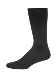 Falke Wool And Silk Socks Charcoal