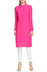 Vince Camuto Women's Longline Tunic Pop Pink