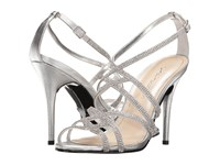 Caparros Fantasia Silver Metallic High Heels