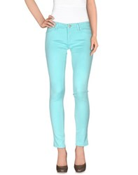 U.S. Polo Assn. U.S.Polo Assn. Trousers Casual Trousers Women Sky Blue