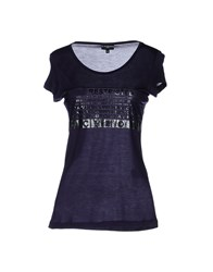 Richmond Denim Topwear Short Sleeve T Shirts Women Black