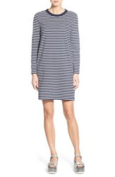 Women's Topshop Boutique Stripe Long Sleeve T Shirt Dress