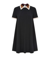 Roksanda Ilincic Radner Contrast Collar Dress Female Multi