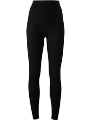 Dolce And Gabbana Ribbed Legging Black