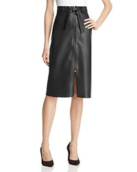 Bailey 44 Never Forget Faux Leather Skirt Black