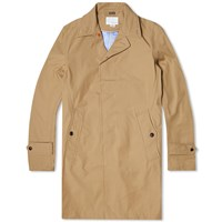 Nanamica Gore Tex Soutien Collar Coat Brown