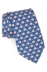 Men's Vineyard Vines Flag Print Tie