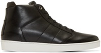 Want Les Essentiels Black Leather High Top Lennon Sneakers