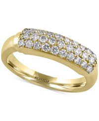 Macy's Trio By Effy Diamond Ring 5 8 Ct. T.W. In 14K White Yellow Or Rose Gold Yellow Gold