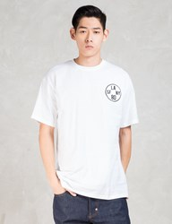 The Hundreds White Time Zone Soft Fit T Shirt