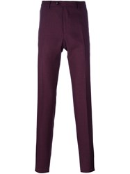 Etro Tailored Trousers Pink And Purple