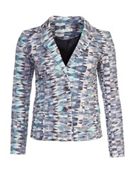 Lavand Printed Cotton Blazer Multi Coloured Multi Coloured