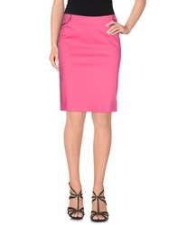 Vdp Collection Skirts Knee Length Skirts Women Fuchsia
