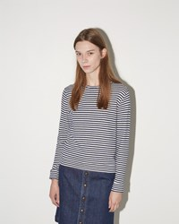 A.P.C. Stripe Sweatshirt Blue Stripe