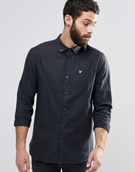 Lyle And Scott Marl Shirt Grey