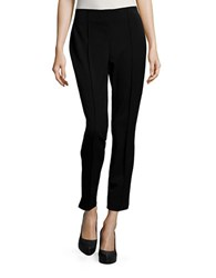 Ivanka Trump Seamed Ponte Pants Black