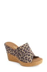 Women's Onex 'Alice' Sandal Brown Leopard
