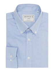 Howick Decorah Button Down Oxford Shirt Blue