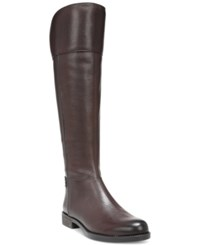 Franco Sarto Christine Wide Calf Riding Boots Women's Shoes Java