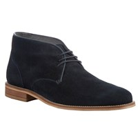 Kin By John Lewis Bobby Suede Desert Boots Navy
