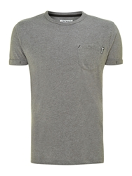 Jack And Jones Essential Short Sleeve T Shirt Grey
