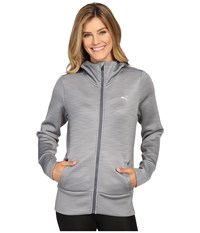 Puma Holiday Future Jacket Medium Gray Heather Women's Coat
