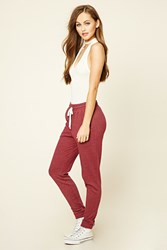 Forever 21 Heathered Pocket Joggers