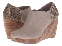 Dr. Scholl's Harlow Taupe Women's Wedge Shoes
