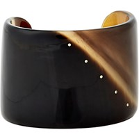 Monique Pean Women's Dark Buffalo Horn Cuff No Color