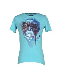 Rare Ra Re Topwear T Shirts Men Turquoise