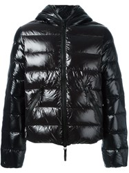 Duvetica Quilted Zip Up Jacket Black