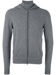 Z Zegna Hooded Sweater Grey