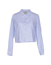 Kaos Jeans Shirts Shirts Women Blue