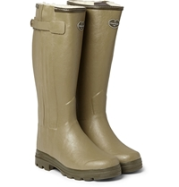 Le Chameau Chasseur Shearling Lined Wellington Boots