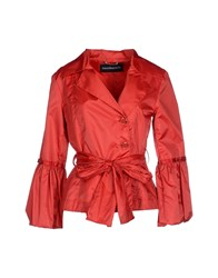 Roccobarocco Suits And Jackets Blazers Women Red