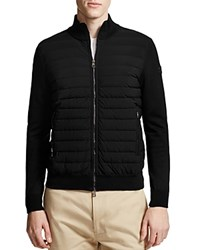 Moncler Knit And Puffer Cardigan