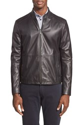Men's Armani Collezioni Leather Jacket