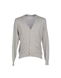 J For James Cardigans Light Grey