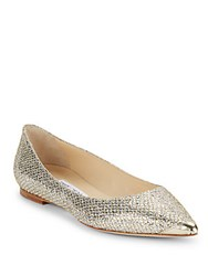 Jimmy Choo Sequin Embellished Pumps Champagne