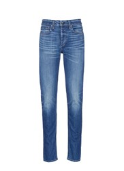 Rag And Bone 'Standard Issue' Medium Wash Jeans Blue